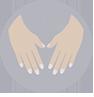 icono de manicura